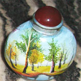 Snuff Bottle with Inside Painting